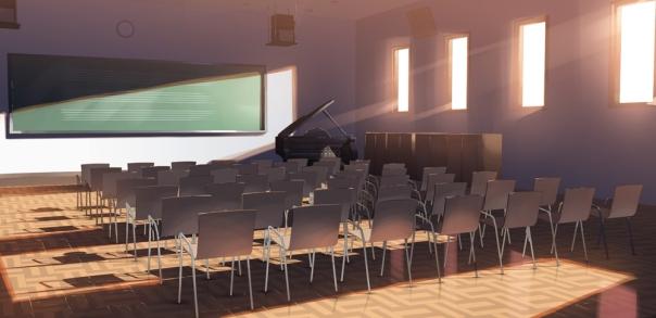 Sala de Música Piano-classroom